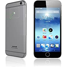 Blackview Ultra A6- Smartphone libre 4.7'' (Android 4.4, 1280x720, MTK6582 Quad Core CPU), gris