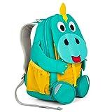 Affenzahn Kinder-Rucksack mit Brustgurt für 3-5 jährige Jungen und Mädchen im Kindergarten oder Kita der große Freund Didi Dino - türkis