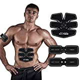 IMATE Bauchmuskeln EMS trainingsgerät Bauchmuskeltrainer elektrisch Muskelstimulation Fitnessgeraete fuer zuhause
