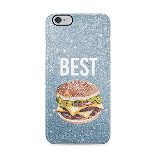 Burger Food Friend Best Friends Girlfriend BFF Matching Case Present Idea Schutzhülle aus Hartplastik Handy Hülle für iPhone 6 Plus/iPhone 6s Plus Case Hard Cover