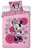 AYMAX S.P.R.L Minnie Disney - Parure letto a 1 piazza - Copripiumino