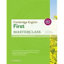 First masterclass. Student's book-Skills practice online-Test online. Per le Scuole superiori. Con espansione online