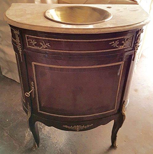 ... LouisXV Barock Tisch Bad Möbel Badezimmer Wasch Becken MkBa0029 Antik  Stil Massivholz. Replizierte Antiquitäten Buche