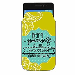 Samsung Galaxy J2 Ace Printed Designer Pu Leather Pouch by Youberry