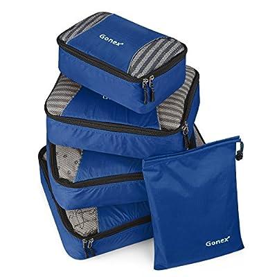 Packing Cubes 3 Set(M)/ 5 or 9 Set(XL/L/M/S/Shoe Bag)Luggage Travel Organizers