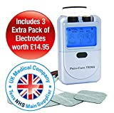 TENS Machine by Med-Fit, Easy Dual Channel Digital Pain Relief TENS Machine One