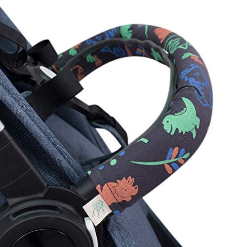 Janabebé Copri maniglia, copri ringhiera per passeggino (HAPPY DINO, PASSEGGINO INDIVIDUALE)