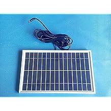 10 W Pannello Solare Ad Alta Efficienza DC Sistema Solare, 12 V 5 Ah  Batteria
