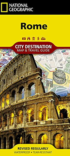 Rome (National Geographic Destination City Map) por National Geographic Maps