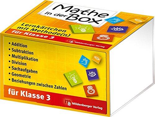 (Mathe in der Box – Lernkärtchen mit Methode(n), Klasse 3)