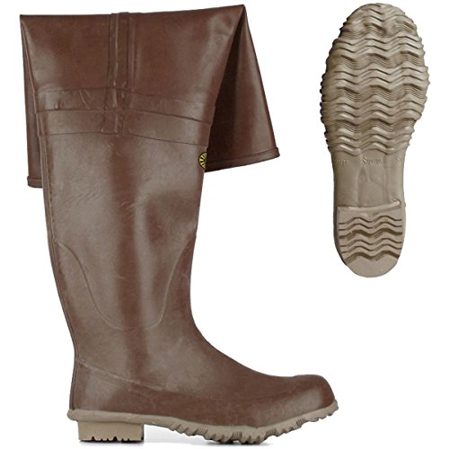 Stivali in gomma - 7566-rbrm Brown