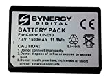 #3: Canon EOS 1300D Digital Camera Battery Lithium Ion (1500 mAh 7.4v) - Replacement For Canon LP-E10 Battery