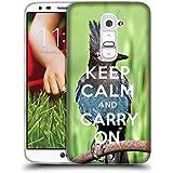 Super Galaxy Coque de Protection TPU Silicone Case pour // Q01014393 keep calm and carry on 682 // LG G2 D800 D802 D802TA D803 VS980 LS980