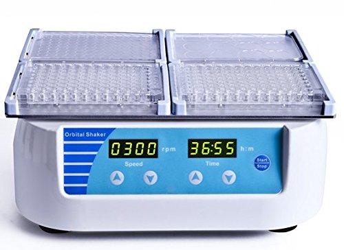 Huanyu MIX-1500 Mikrotiterplatten-Schüttler Geschwindigkeit 300-1500 U/min mit 4 Standard-Mikrotiterplatten