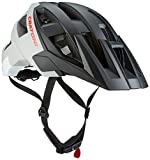 Cratoni Fahrradhelm AllSet, Black/Grey/White Matt, 54-58 cm, 110601B1