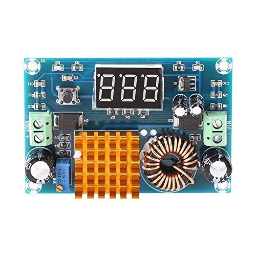 DC-Spannungsregler Step Up Boost Modul Converter Netzteil 3-35V bis 5V-45V 5A mit LED Display -