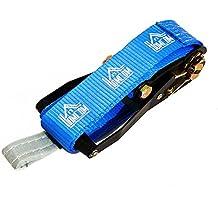 HOMCOM Kit Slackline con Cinta Carraca y Protector de Árbol para Escalada y Deportes Extremos 15mx5cm