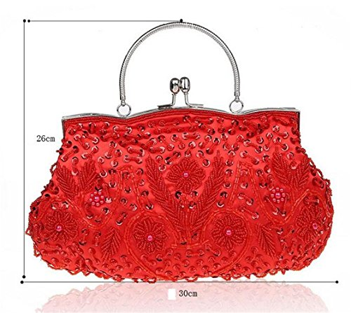 ISHOW - Borsa a tracolla donna Rosso