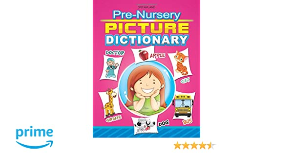 Buy Pre-Nursery Picture Dictionary Book Online at Low Prices