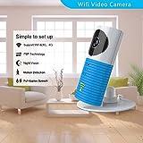 Clever dog Wireless Sicherheit Wifi-Kameras (Blau)