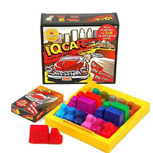 Georgie Porgy Juegos de Mesa Puzzler Juegos Ingenio juegos de Logica para Niños Adultos (Traffic Jam Puzzle)