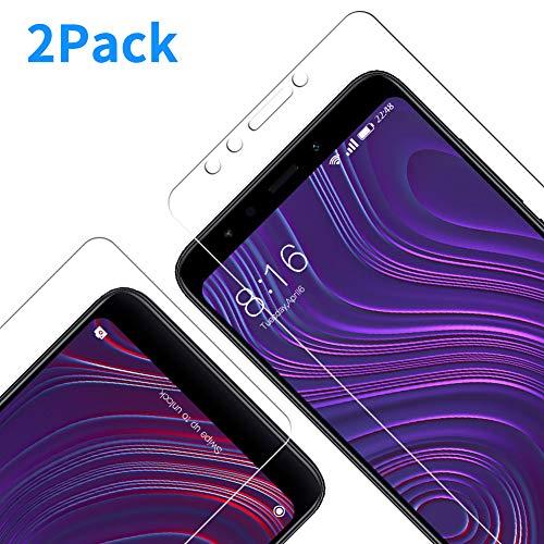 Vkaiy [2 Unidades Protector De Pantalla Xiaomi Redmi 5, Ultra Transparente Vidrio Templado 9H Dureza 3D Touch Compatible Anti Arañazos, Anti de Aceite, Anti de Burbujas para Xiaomi Redmi 5