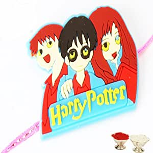 Harry Potter Rakhi (Multi Colour,Rectangular)