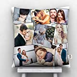 KivStar 9 Photos Personalized Cushion White-12 * 12