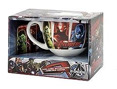 Idea Regalo - Avengers M92473 MC - Set Tazza e Sottobicchiere