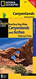 Best Easy Day Hiking Guide and Trail Map Bundle: Canyonlands National Park (Where To Hike)