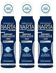 NARTA Homme Dermo-Efficacité 48H Déodorant Spray 150 ml -
