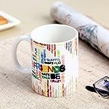 Hot Muggs Friend Emotions Ceramic Mug, 350ml