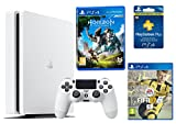 PS4 Slim 500Gb Blanca Playstation 4 Consola - Pack 2 Juegos - Horizon: Zero Dawn + FIFA 17 + PSN Plus 90 días