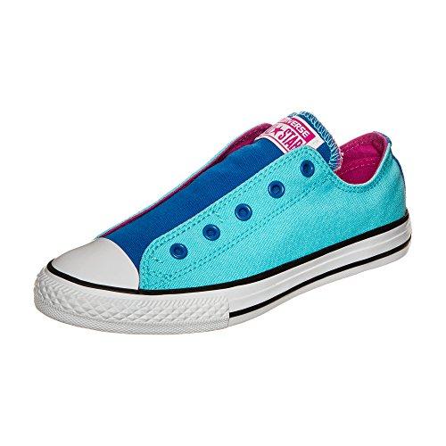 Converse Unisex-Kinder Chuck Taylor All Star Slip OX Slip On Sneaker, blau, 38.5 EU Chuck Taylor Slip