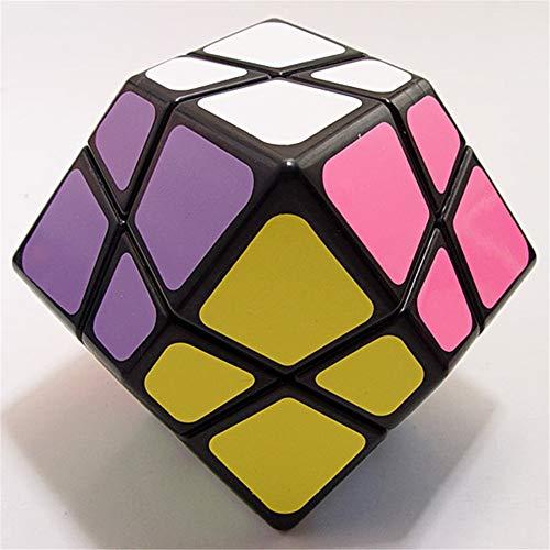 GUIHE Puzzle Magique Cube de Vitesse de dodécaèdre Cube Casse-tête Twist Toy, Éducation pour Adultes ou Enfants