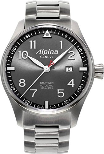 ALPINA STARTIMER PILOT SUNSTAR HERREN-ARMBANDUHR 44MM AUTOMATIK AL-525GB4S6B