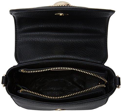 Versace Jeans Ee1vrbbl3 E70037, Borsa a Tracolla Donna, 6x12x15 cm (W x H x L) Nero