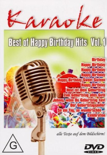 Preisvergleich Produktbild Best of Karaoke - Happy Birthday Hits Vol. 01