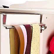 QRSLHYA 1pcs Door Tea Towel Rack Bar Hanging Holder Rail Organizer Bathroom Cabinet Cupboard Hanger Kitchen Ac