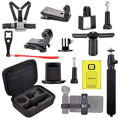 Zubehör für OSMO Pocket Handheld Mount Adapter Stativ Kit Tragetasche Telefonhalterung für Osmo Pocket Mount-adapter-kit
