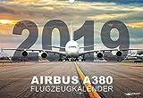 Airbus A380 2019 Calendrier aéronautique 2019 avec le Giganten des ventilateurs, 12 airlines grand format env. Dimensions : 49 x 34 cm