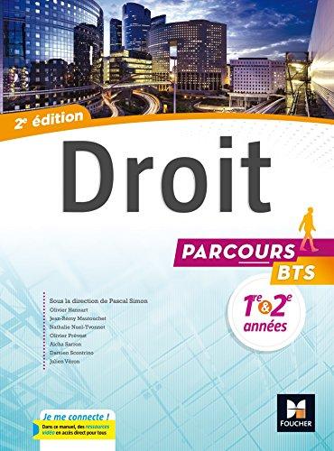 Parcours - DROIT BTS 1re et 2e annes - d. 2017 - Manuel lve