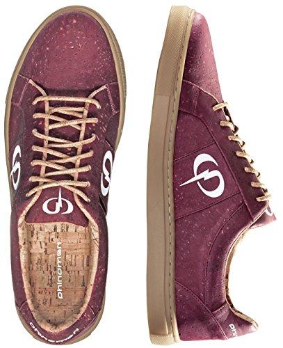 Berry Einlegesohlen (PHINOMEN PHILING Cork Sneaker - Berry - Größe 41)