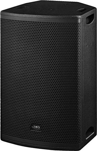IMG STAGELINE DRIVE-12DSP Aktive Profi-DSP-Lautsprecherbox mit 2-Kanal-Verstärker, 380 W schwarz