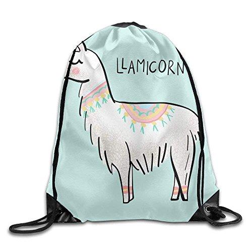 string Backpack Unisex Portable Sack Bag ()