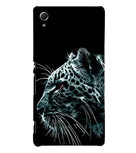 printtech Nature Abstract Leopard Back Case Cover for Sony Xperia Z3 Plus / Sony Xperia Z3+