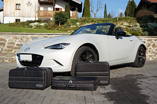 MX-5 Roadsterbag/Reisekoffer Standard 3 Formstabile Koffer passend für  Mazda MX-5 TYP ND 2015 -