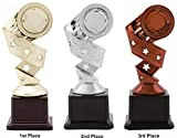 #4: Trophy : Award for First Three Positions(Set of 3Pcs) by Aark India (PC-00500)