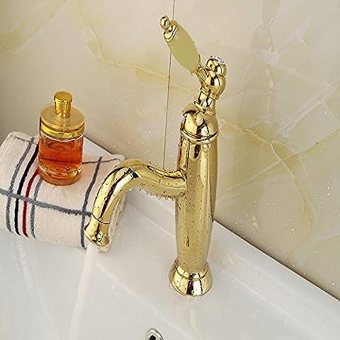 Copper faucet faucet lavatory basin faucet Retro