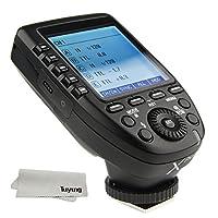 Godox XPRO-C E-TTL II 2.4G Wireless Flash Trigger High Speed senkronizasyon için 1/8000s X System High Speed Big LCD-Ekran Transmitter Canon